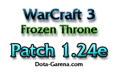 Скачать патч - WarCraft 3 Patch 1.24e Ru - Full версия