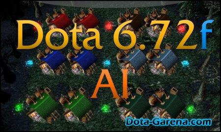 DotA 6.72f AI   Скачать доту с ботами версии 6.72 f